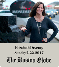 Elizabeth Deveney featured in boston globe